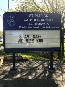 St. Patrick Misses You!